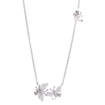 Little Butterflies Necklace