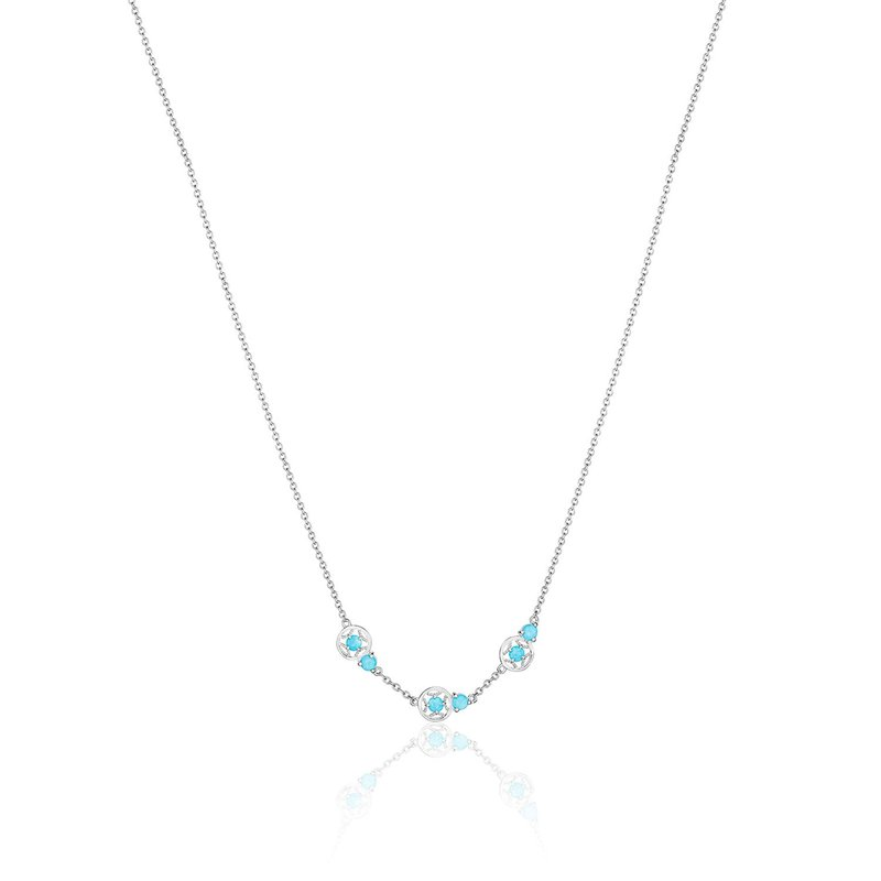 Tacori Fashion Petite Gemstone Necklace with Turquoise