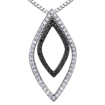 Enhanced Black Diamond Pendant