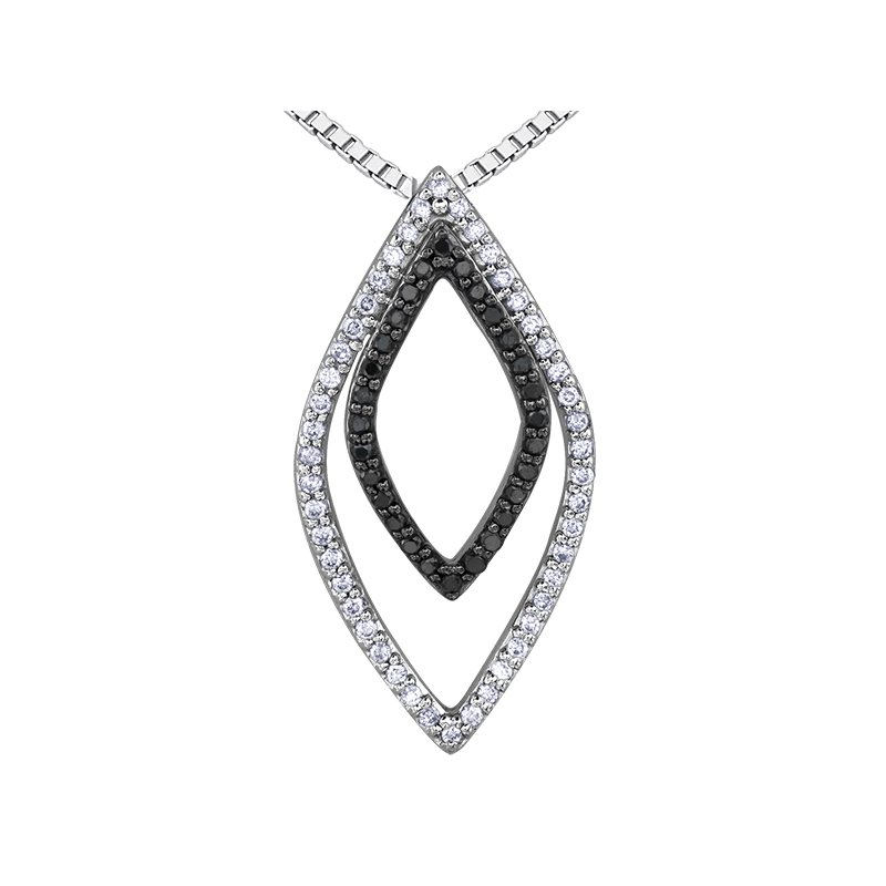 Diamond Days Enhanced Black Diamond Pendant