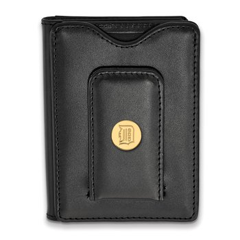 Gold-Plated Sterling Silver Detroit Tigers MLB Wallet