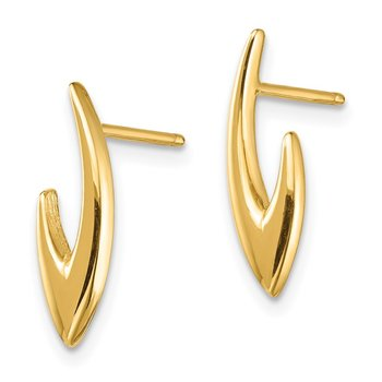 14K Post Earrings