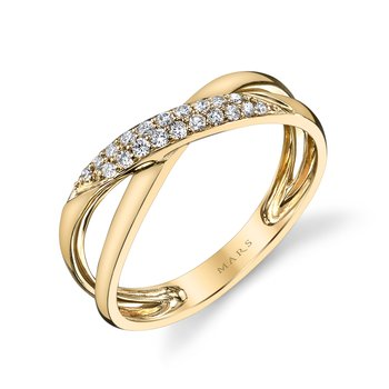 MARS 26585 Fashion Ring, 0.15 Ctw.