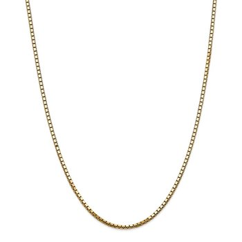 14k 2.5mm Box Chain