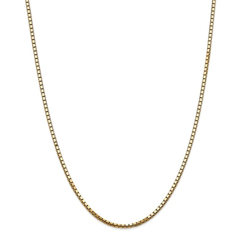 Quality Gold 14k 2.5mm Box Chain