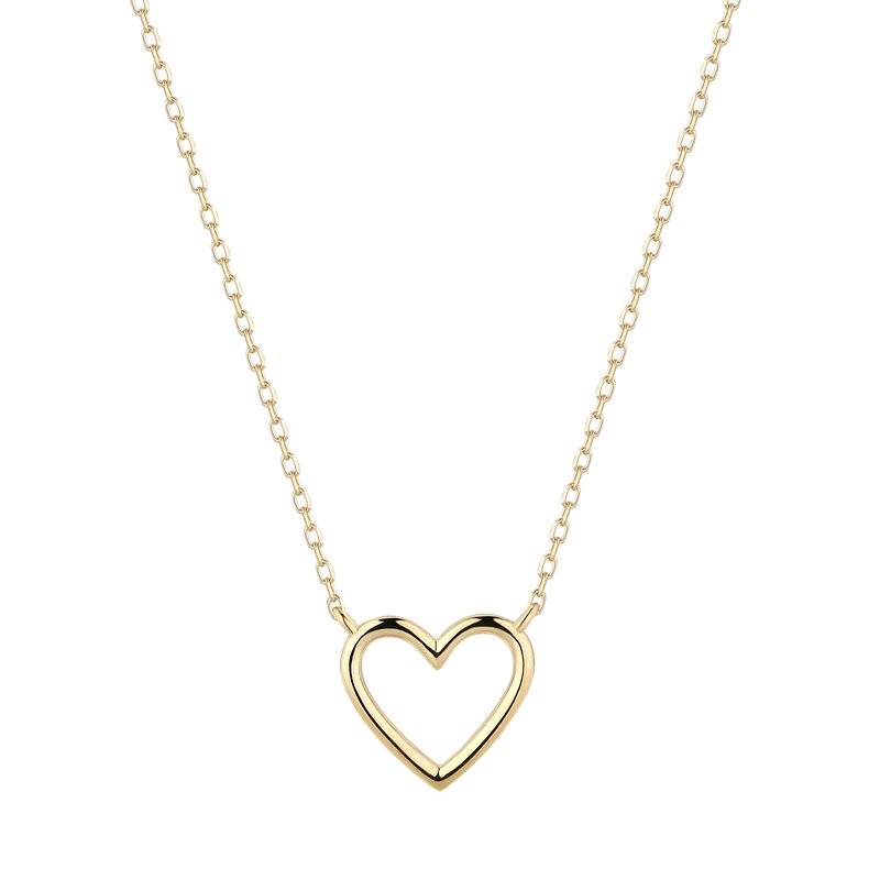 Aurelie Gi JANE | Open Heart Necklace
