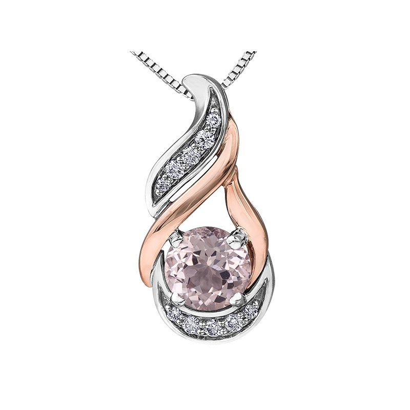 Timeless Beauty Morganite Pendant