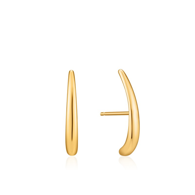 Ania Haie Luxe Lobe Hook Stud Earrings