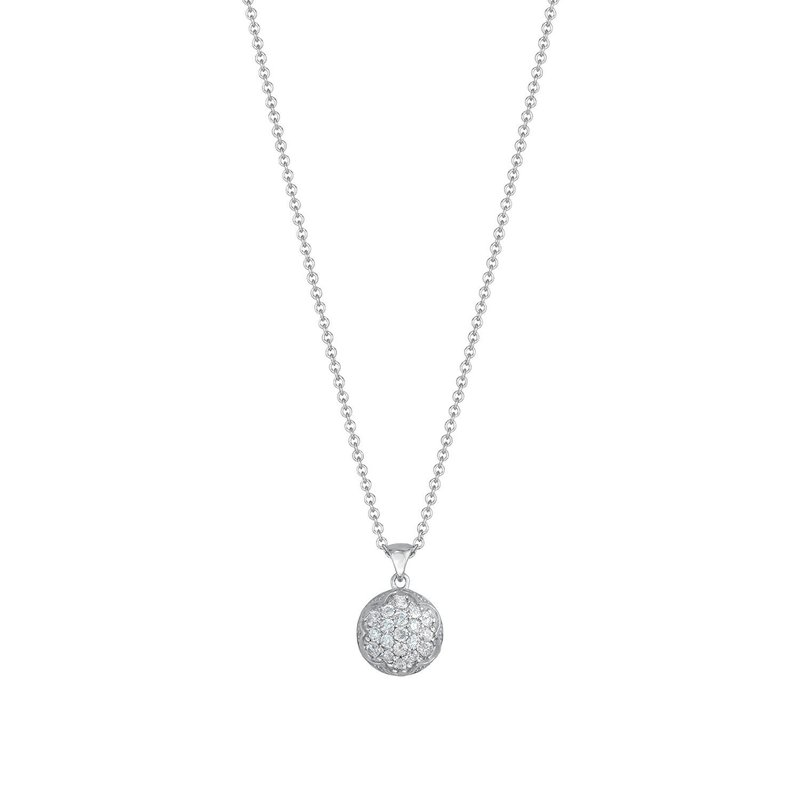 Tacori Fashion Dew Drop Pendant featuring Pavé Diamonds