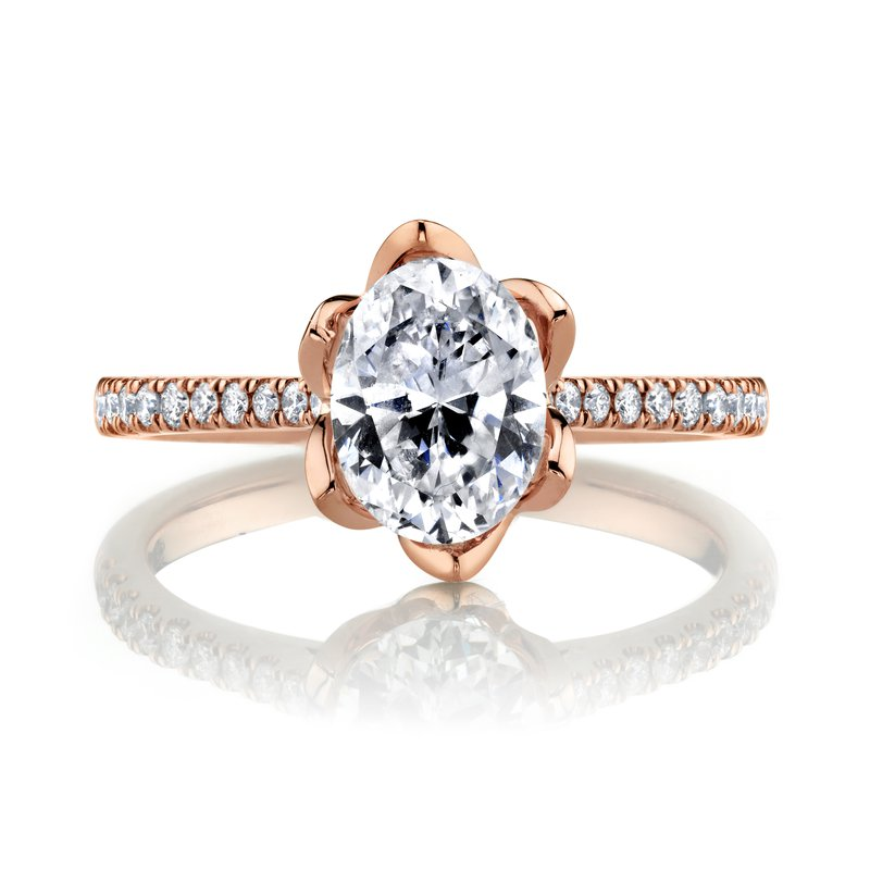 MARS Jewelry MARS 27344 Diamond Engagement Ring, 0.17 Ctw.