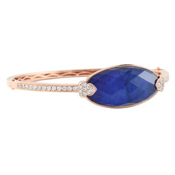 Royal Lapis Bangle
