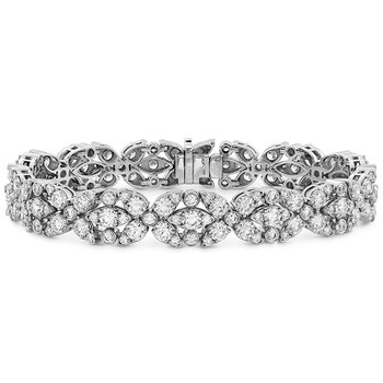11.15 ctw. Aerial Double Row Diamond Bracelet