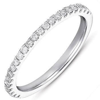 White Gold Matching Band FOR EN7186