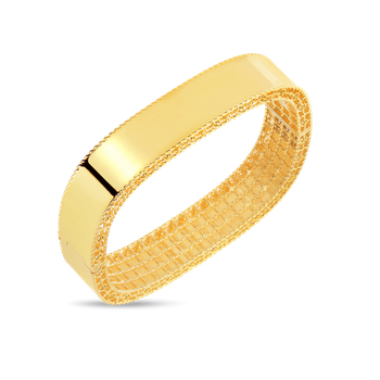 18KT GOLD MEDIUM BANGLE