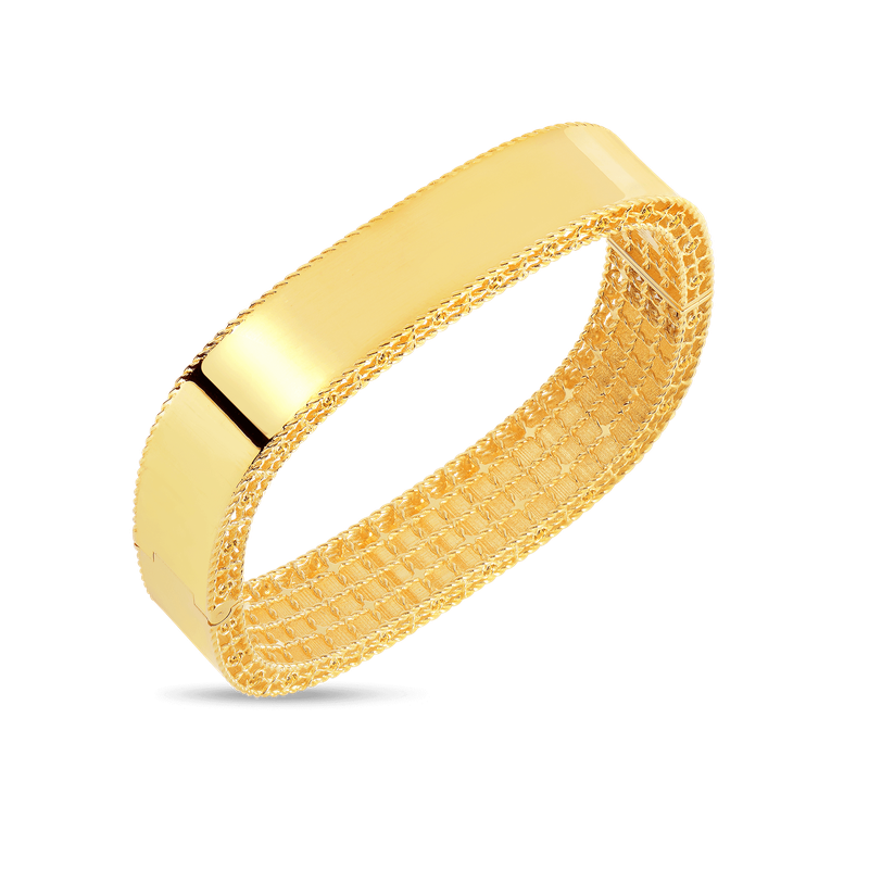 Roberto Coin 18Kt Gold Medium Bangle