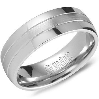 CrownRing Men's Wedding Band WB-9669