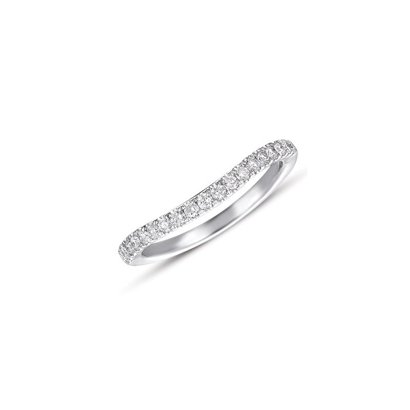 S. Kashi & Sons Bridal White Gold Matching Band for en7284