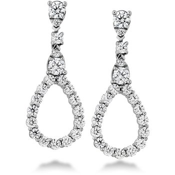 1.3 ctw. Aerial Diamond Drop Earrings