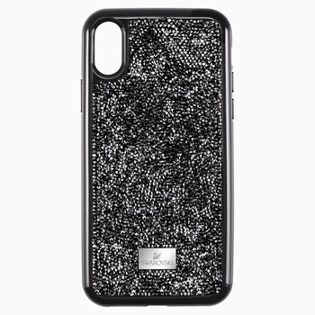 Glam Rock Smartphone Case with Bumper, iPhone® XS Max, Black