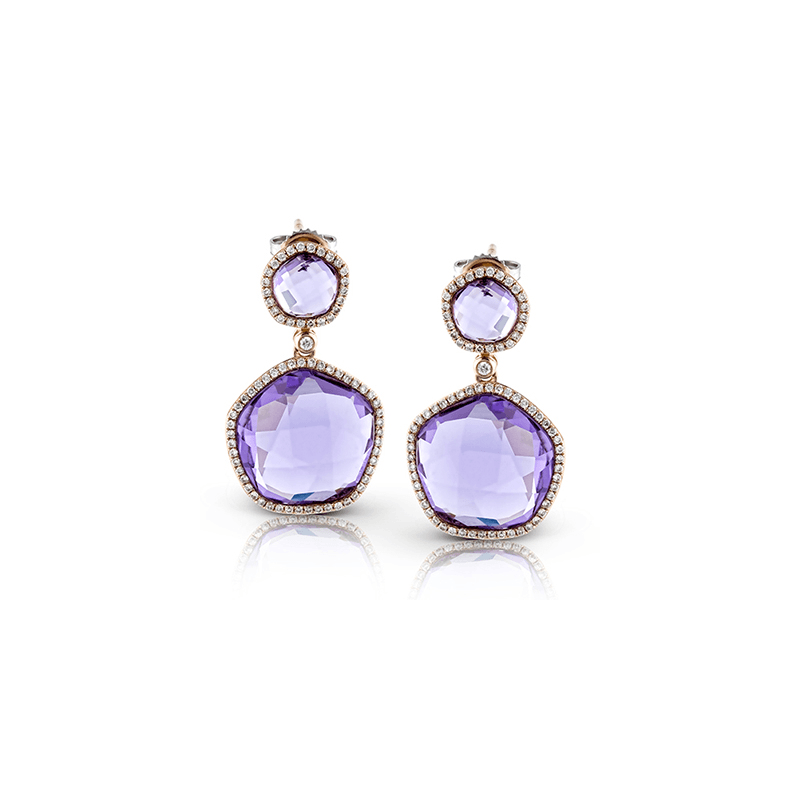 Zeghani ZE446 COLOR EARRING