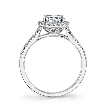 25124 Diamond Engagement Ring 0.26 ct tw