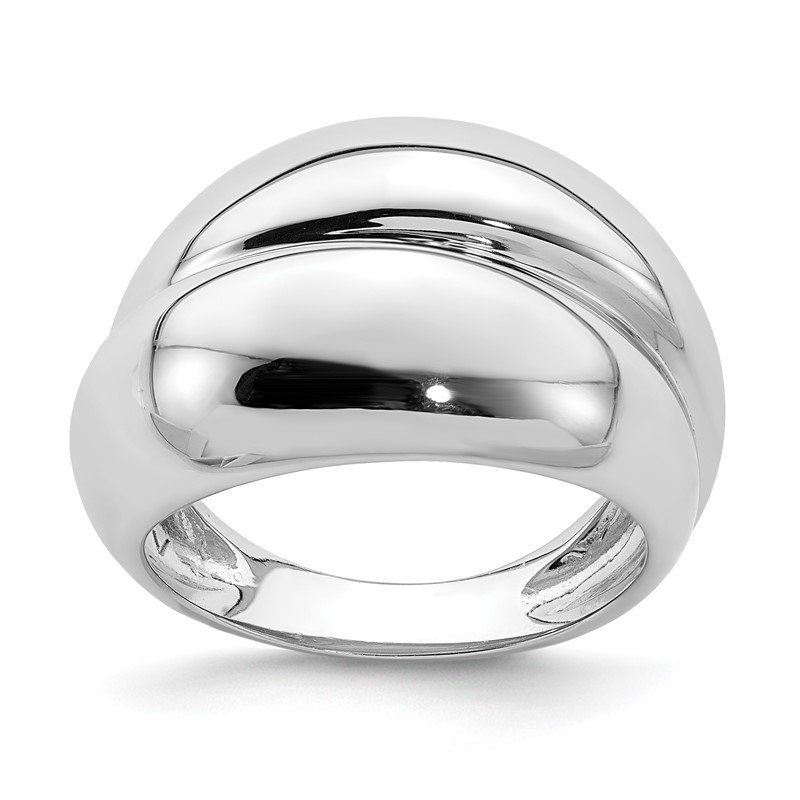Quality Gold Sterling Silver Rhodium Plated Ring