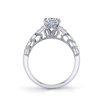 MARS 26001 Diamond Engagament Ring 0.25 Ctw.