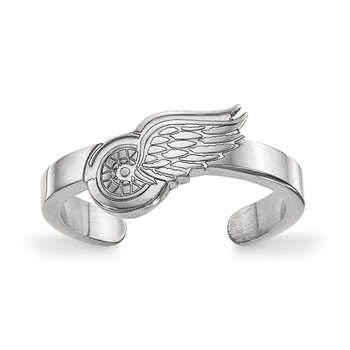 Sterling Silver Detroit Red Wings NHL Ring
