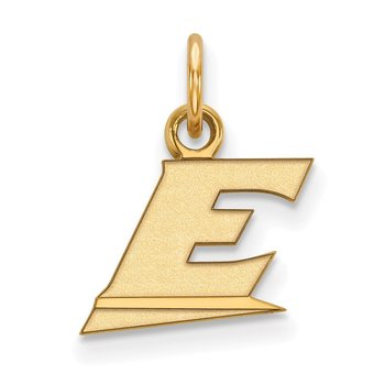 Gold Eastern Kentucky University NCAA Pendant
