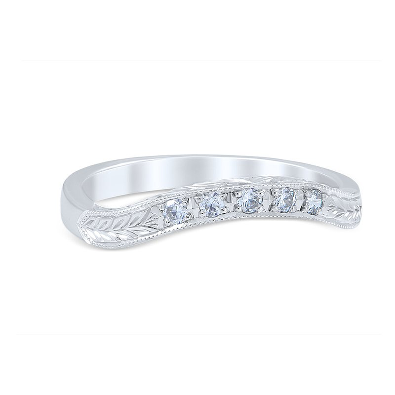 Whitehouse Brothers Floral Burst Wedding Ring