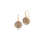 Roberto Coin Earrings with Diamonds, Quartz and Mother of Pearl
