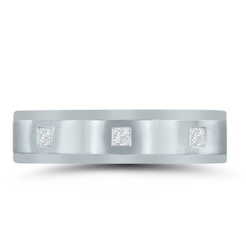 Men's 3/8 Carat Diamond Wedding Band ND01683  by Novell