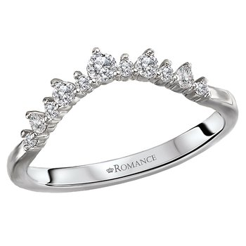 Diamond Nesting Wedding Band