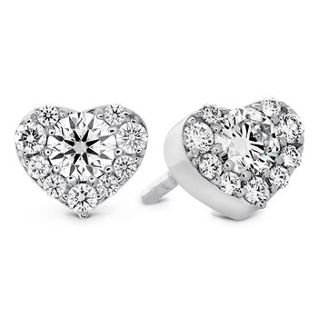 0.45 ctw. Fulfillment Heart Stud Earrings
