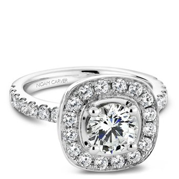 Noam Carver Vintage Engagement Ring B011-01A