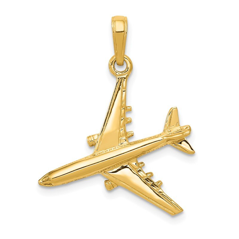 J.F. Kruse Signature Collection 14k 3-D Jet Pendant