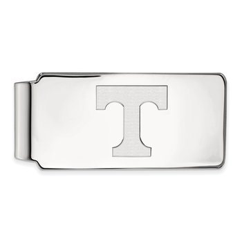 Sterling Silver University of Tennessee NCAA Money Clip