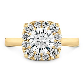 0.4 ctw. HOF Signature Custom Halo Engagement Ring