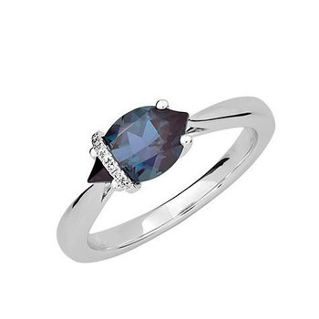 Alexandrite Ring-CR12415WAL
