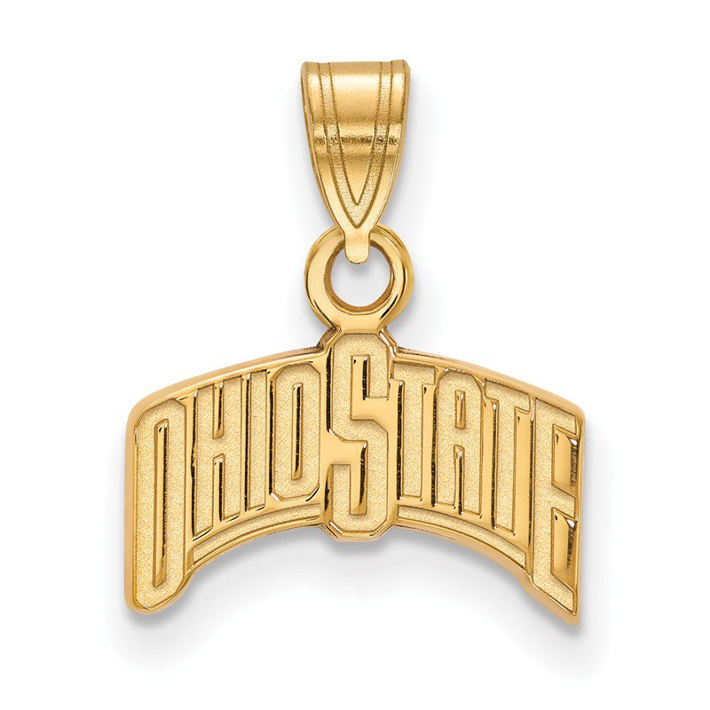 NCAA Gold-Plated Sterling Silver Ohio State University NCAA Pendant