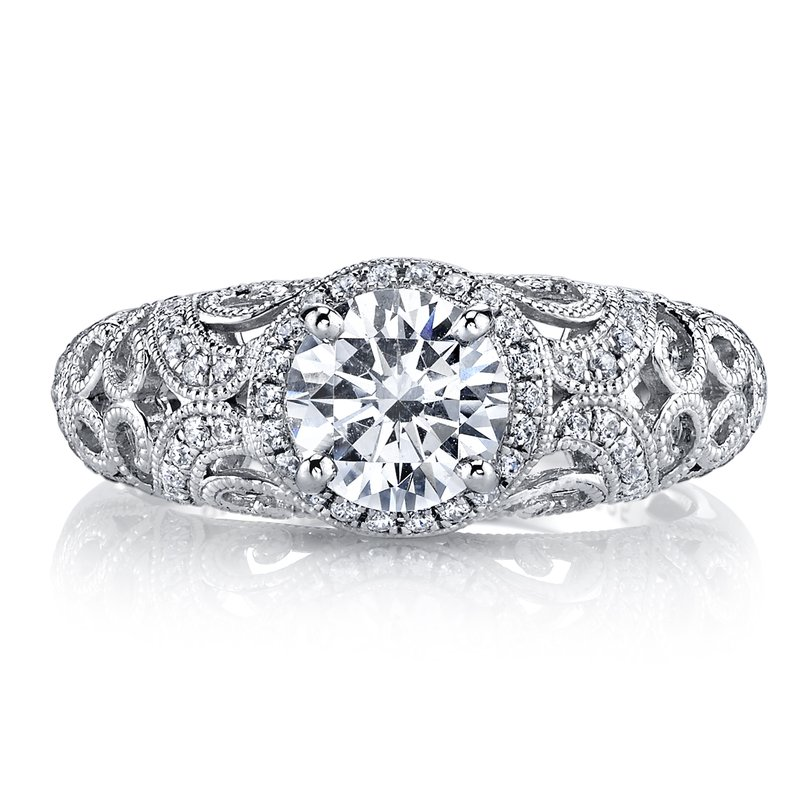 MARS Jewelry MARS 26258 Diamond Engagement Ring 0.46 Ctw.