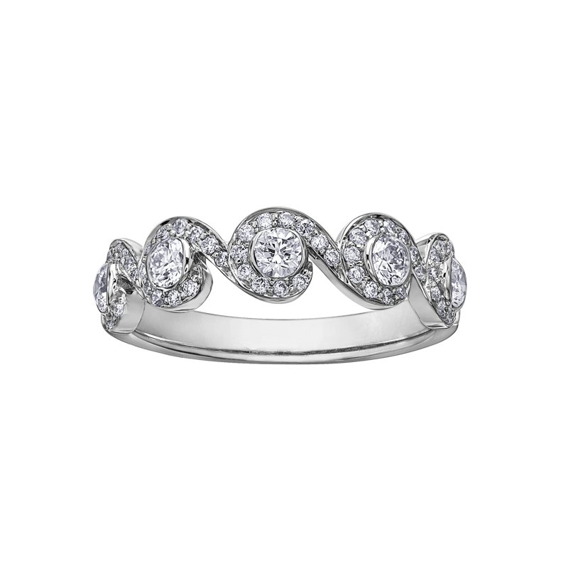 Maple Leaf Diamonds Maple Leaf Diamonds™ Tides of Love™ Ladies Ring