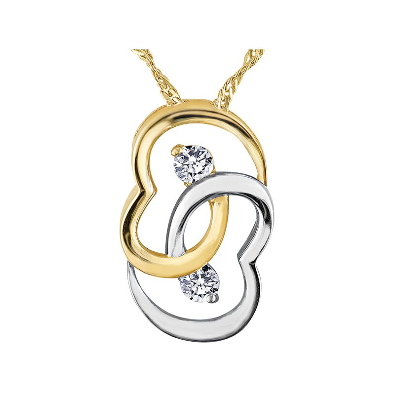 Lasting Treasures™ Together Forever™ Diamond Pendant