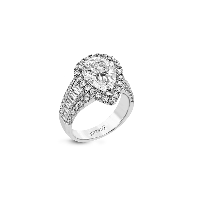 LR1164-PR ENGAGEMENT RING
