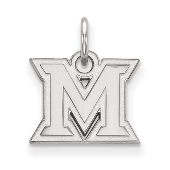 Gold Miami University NCAA Pendant
