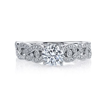 MARS 26440 Diamond Engagement Ring 0.25 Ctw.