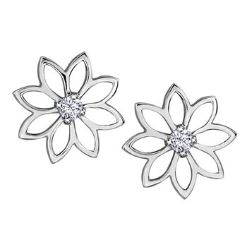 Maple Leaf Diamonds™ Earrings, Seasons™ by Shelly Purdy