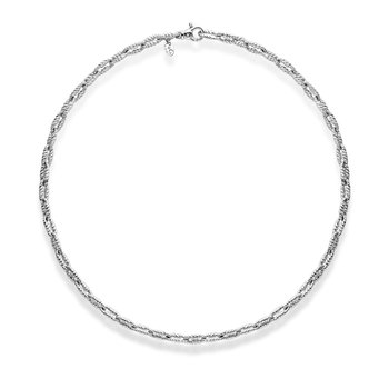 Sterling Silver Italian Cable Bracelet