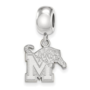 Sterling Silver University of Memphis NCAA Bead