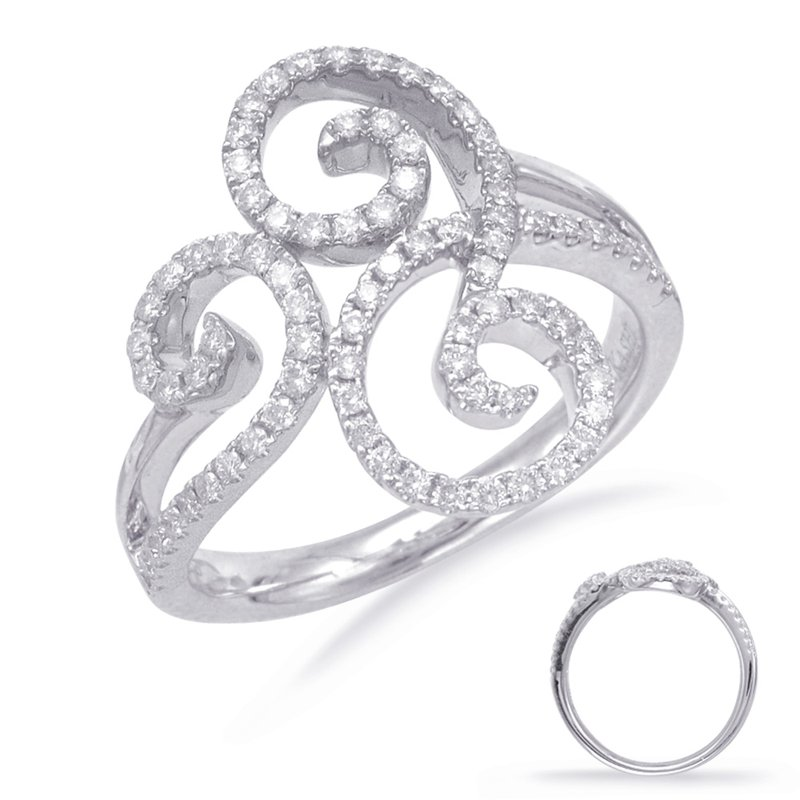 S. Kashi  & Sons Pave Diamond Ring